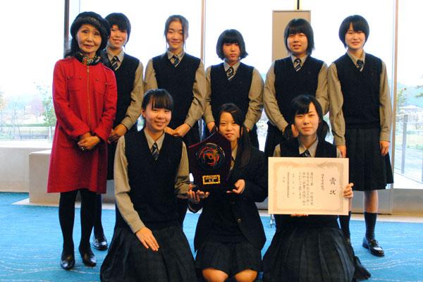 第22回福井県高等学校総合文化祭音楽フェスティバル金賞受賞 (平成23年11月9日)<br/>創部以来初の金賞受賞!良き伝統にしていきたいです。