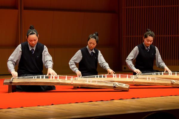 県高校総合文化祭音楽フェスティバル日本音楽部門