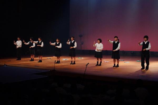 文化祭ステージ発表